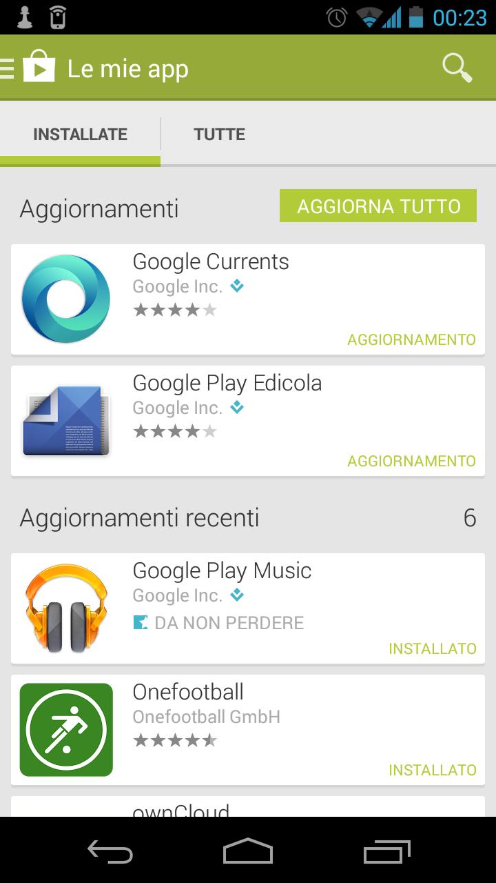 Le applicazioni Google non se ne andranno tanto facilmente